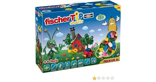 Fisher Tip 49113 Caja XL - Juego de modelado con 1000 TiP y accesorios [importado de Alemania]: Amazon.es: Juguetes y juegos