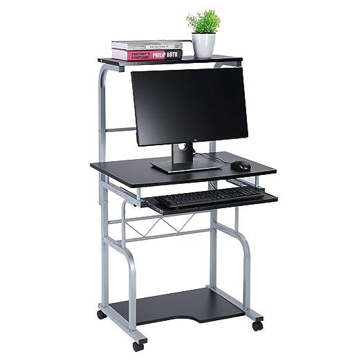 Mesa de Ordenador Moderna, Mesa de Oficina Escritorio de la ...
