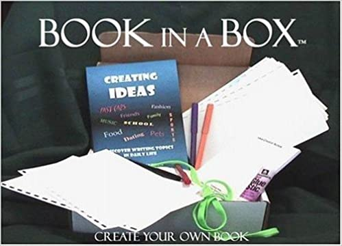 Amazoncom Book In A Box Create Your Own Book 9780974686004