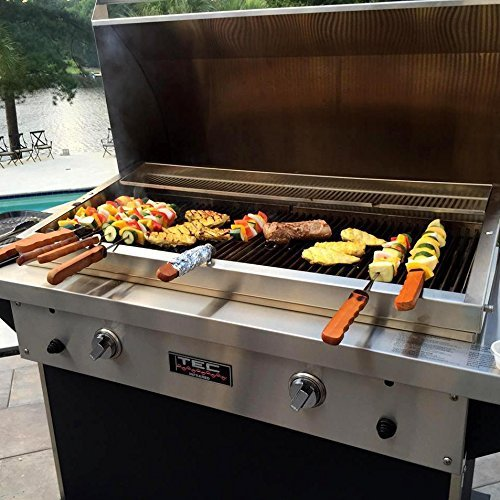 Fr Propane (Tec Patio Fr 44-inch Freestanding Infrared Natural Gas Grill On Stainless Cabinet - Pfr2ntcabs)