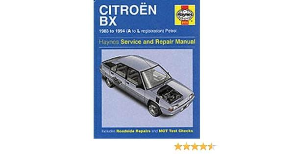 citroen bx service and repair manual haynes service and repair rh amazon com