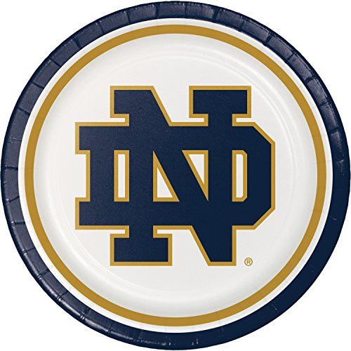 University of Notre Dame Paper Plates, 24 ct -
