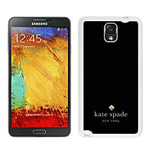 Lovely and Newest Kate Spade Samsung note 3 White Phone Case in Grace Protactive 010