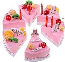 Amazon.com: Cocina Juguetes para bebés, niños, niñas tarta ...