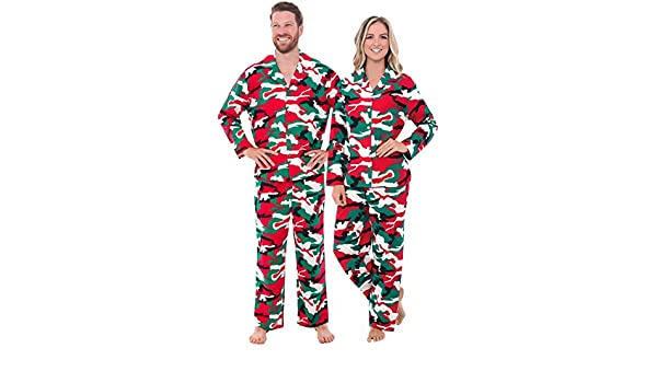 Alexander Del Rossa Mens and Womens Matching Flannel Pajama Set at Amazon Womens Clothing store: