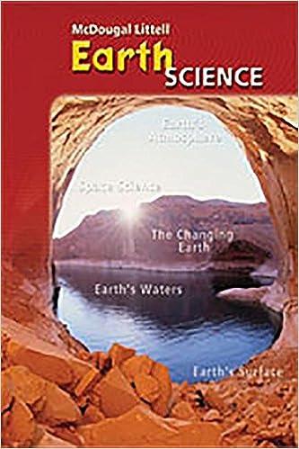 McDougal Littell Science Earth Science Note Taking