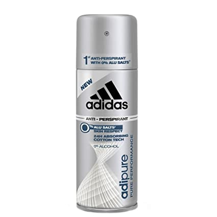 Deodoranti 150 Adipure it Ml Amazon Adidas Spray Uomo Deodorante XwTqffR