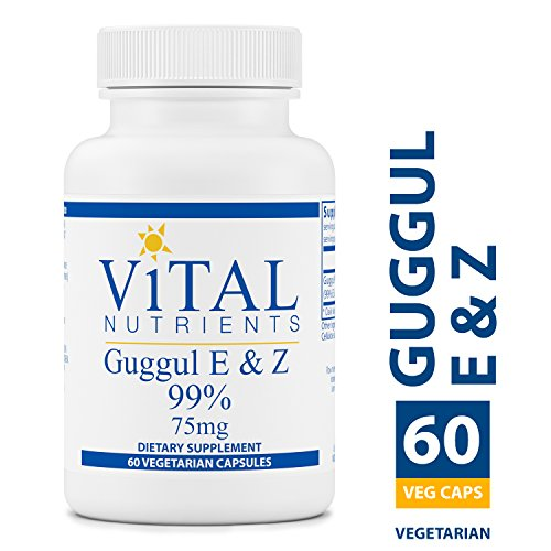 Vital Nutrients - Guggul E & Z 99% - Cholesterol Level Support - 60 Capsules