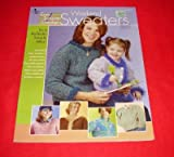 img - for Annie's Attic Easy Tunisian Crochet Weekend Sweaters for Mom and Daughter book / textbook / text book