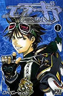 Book's Cover ofAir Gear Tome 1