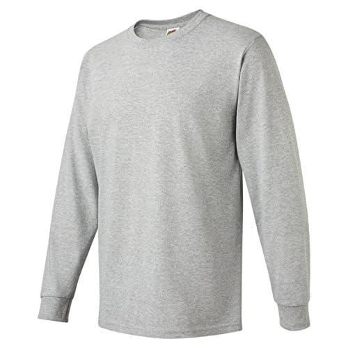 f626eba33ef low-cost Fruit Of The Loom 5.6 oz Heavy Cotton Long Sleeve T-Shirt ...