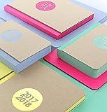 Agenda accademica 2017/2018 Letts letterpress A6