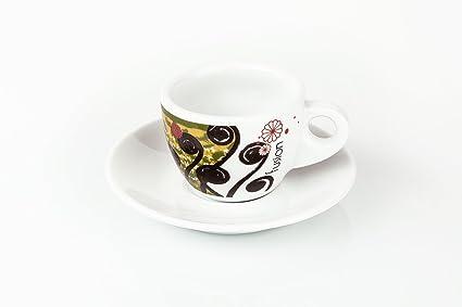 Juego de 6 tazas de café Fusion - tazas de café - fabricado en