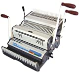 Akiles DuoMac-C41 Binding Machine & Punch Heavy Duty 2-in-1 Combs & 4:1 Coils