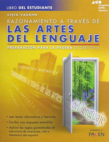 Steck-Vaughn GED: Test Prep 2014 GED Reasoning Through Language Arts Spanish Student Edition 2014 (Spanish Edition)