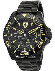 Ferrari Mens XX Kers Quartz Stainless Steel Casual Watch (Model: 0830309)