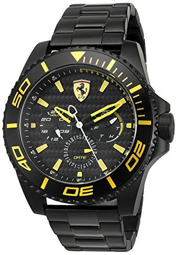 ferrari-mens-xx-kers-quartz-stainless-steel-casual-watch-model-0830309