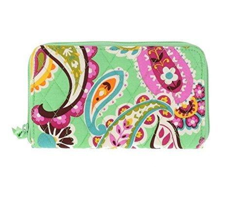 Vera Bradley Accordion Wallet (Tutti Frutti with Pink Interior)