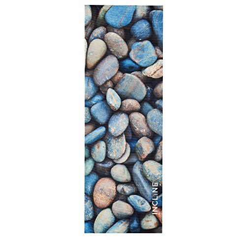 Incline Fit River Rock Printed Premium Yoga Mat