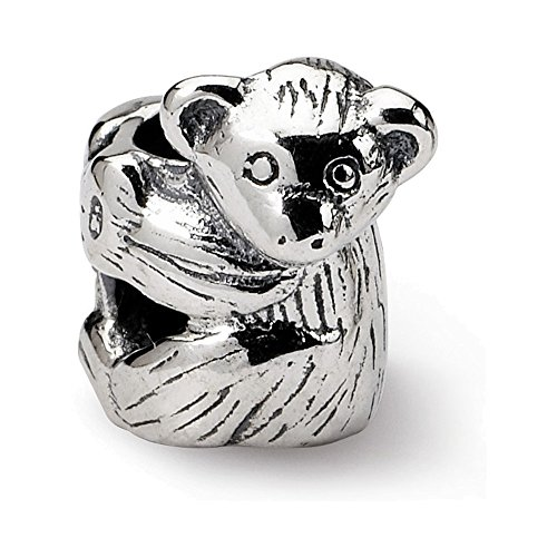 Jewelry Adviser Beads Sterling Silver Reflections Koala Bead