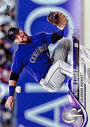 99c570cc255b5 Amazon.com: 2018 Topps #230 Trevor Story Colorado Rockies Baseball ...