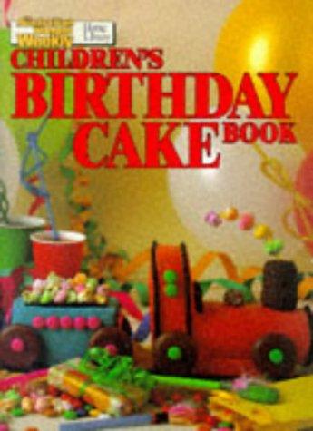 Childrens Birthday Cake Book (