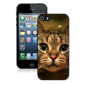 Diy Design Naughty Christmas Cat Black Phone Case For Iphone 5s,Iphone 5 TPU Case,Apple Iphone 5s