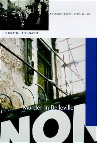 book cover of Murder in Belleville
