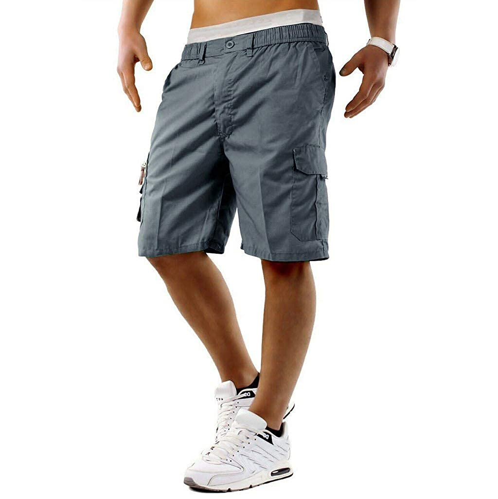 AMUSTER Pantaloncini Abbigliamento Maschile Maschi Jeans Eleganti Sportivi Tinta Unita Contro Le Vacanze Estive