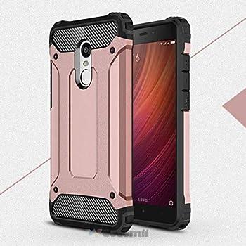 Amazon.com: Xiaomi Redmi Note 4 / 4X Funda, Silverback Niñas ...