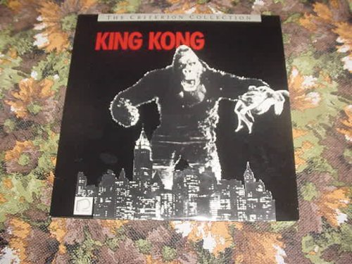 Laserdisc King Kong 1933 Version The Criterion Collection with Fay Wray, Robert Armstrong, Bruce Cabot, Frank Reicher, Sam Hardy, a David O. Selznick Film. 101 minutes.