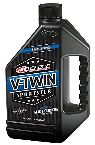Maxima Racing Oils 40-03901 V-Twin Sporster Gear/Chain Oil - 32 fl. oz. (Mobile Gear Oil)