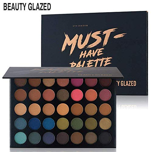 Beauty Glazed Make Up Eyeshadow Palette 35 Colors Blendable