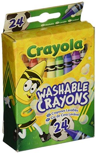 Crayola 52 6924 Washable Crayons Assorted