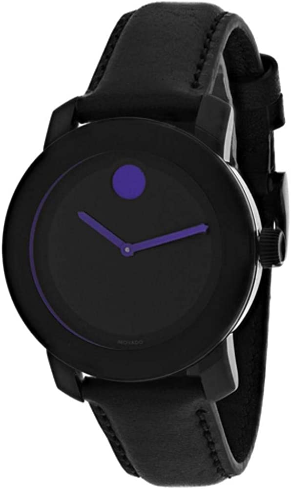 Movado Bold Black and Purple Dial 3600528