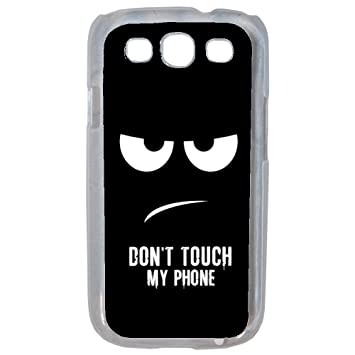 Aux prix canons - Funda con - Carcasa Don t Touch my Phone ...