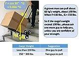 Mecete Stair Climbing Cart Portable Climbing Cart