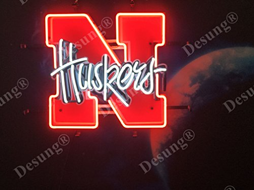 Huskers Nebraska Lamp - Desung 19