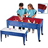 Childcraft Sand And Water Table With Cover 6 Inch Deep 45 7 8 X 17 3 4 X 24 3 4 Inches Industrial Scientific