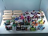 SUPAK 16pcs/lot Random Princess Girl Elsa Queen Anna Olaf Girl Friends Music Girl Stephanie Mia Emma Olivia Andrea MiniFigures Toy Series Action Figure Set Compatible Lego