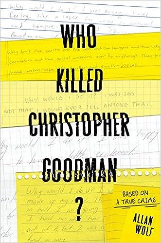 Image result for who killed christopher goodman