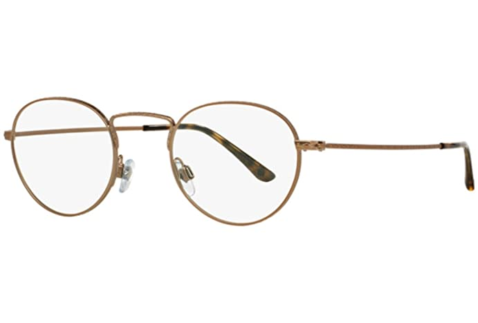 Amazon.com: Giorgio Armani - FRAMES OF LIFE AR 5042, Round, metal ...