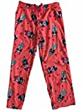 Girls Neon Coral Pink Llama Sleep Pant Star & Sunglasses Pajama Bottoms