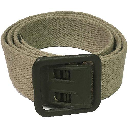 Mil-Tec French Khaki Trouser Belt - Medium by Miltec (Image #1)