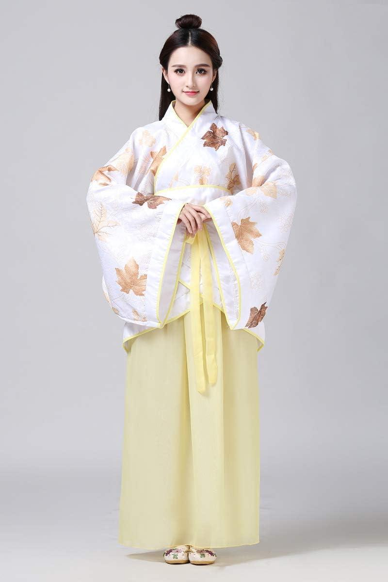 SUNJING Traje clásico de Hanfu para Mujer Tang, Chino Tradicional ...