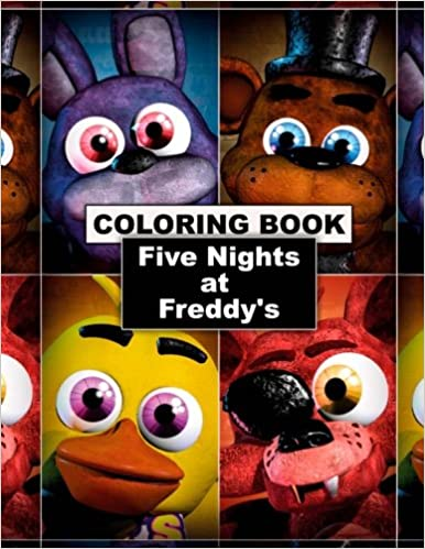 Amazon Com Five Nights At Freddy S Coloring Book Great Coloring