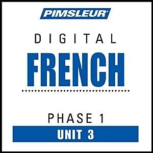 French Phase 1, Unit 03 Audiobook