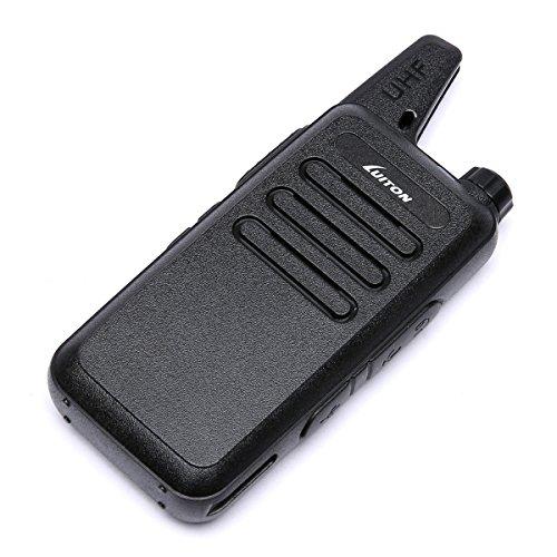 LUITON Mini Kids Walkie Talkies with Micro USB Charging LT-316 Uhf Two Way Radio (10 Pcs) by LUITON (Image #3)