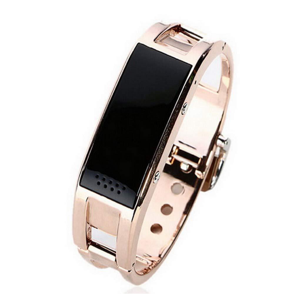 Beweglicher Pedometer der intelligenten Blautooth-Armbanduhr-Armband-Synchronisation bewegungslose Uhr