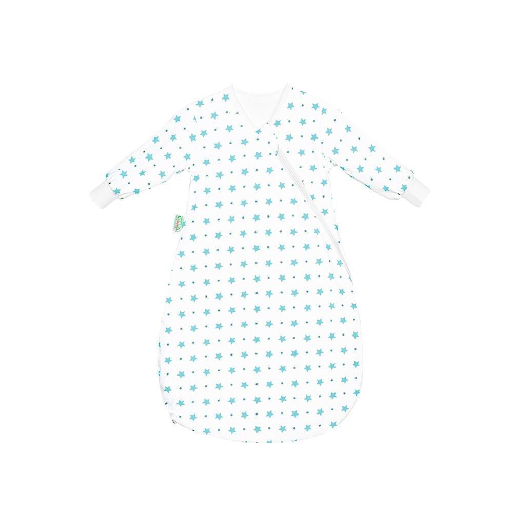 Odenwälder Jersey-Unterzieh-Babynest Stars soft mint Gr. 70